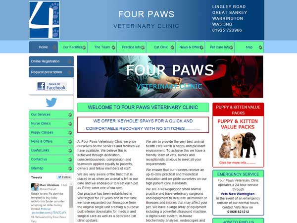 Four-Paws-Vet-Clinic-Warrington