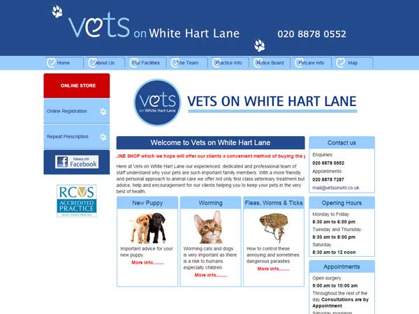 Vets on White Hart Lane Barnes