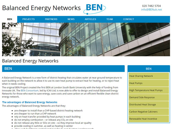 Balanced Energy Networks